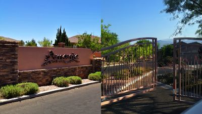 Gate for Amante housing development
