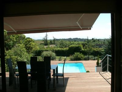 Photo for 250 meters from the Cité, luxury villa Jacuzzis and heated pool