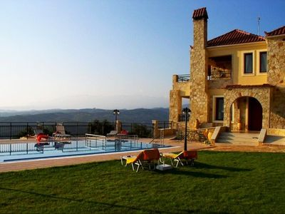 Photo for Large stone built  Villa with Wonderful Panoramic Views