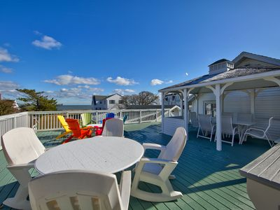 Photo for 3 New Castle Street - Large Home, Steps to the Ocean, Pet Friendly, Ocean and Boardwalk Views from Unbelievable Rooftop Deck, Sleeps 16, **Includes Linens + Towels for 12**