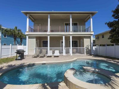 Photo for Private Beach Home with Private Pool! Four Bikes Included with Every Reservation.