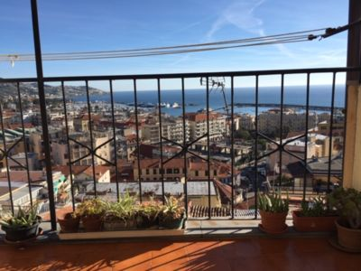 Photo for SPLENDID SEA VIEW FROM THE PIGNA A FEW STEPS FROM THE CENTER AND FROM THE BEACHES