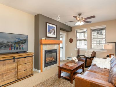 Photo for On Mtn Luxe Condo | New Decor | Multiple Hot Tubs & Grills | Ski In / Ski Out