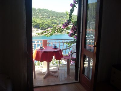 Photo for Apartment Jure  A2(2+1)  - Povlja, Island Brac, Croatia