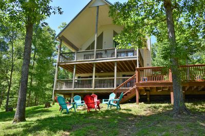 Lake front house 30 minutes from Mammoth Cave Park