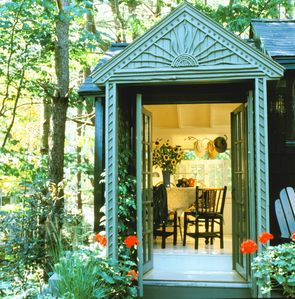 Photo for Charming cottage in the woods minutes from the beach and the Village Center