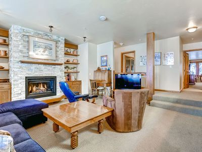 Photo for Ski-in/ski-out ground floor condo - shared outdoor pool and hot tubs