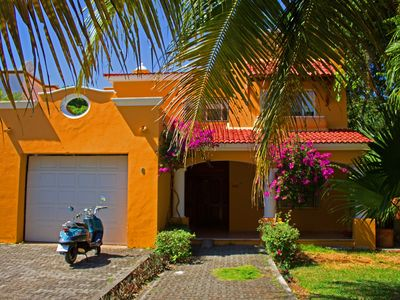 Photo for Beautifull Villa Tucano in Playacar with private swimming pool and garden
