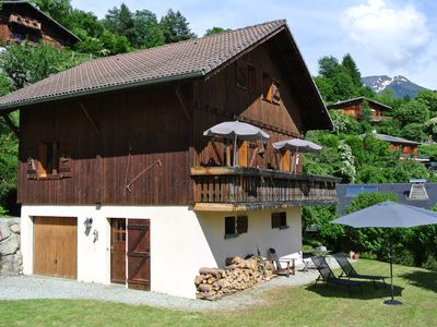 Photo for Beautiful 3 Bedroom Chalet, South Facing, Chamonix area