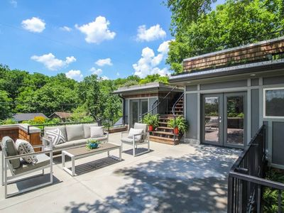 Photo for Sky Gardens, East Nashville - Roof Top Gardens home. Sleeps 12