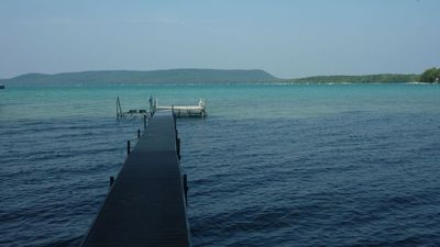 Photo for Big Glen Lake Hideaway with Panoramic Sunset Views, Private Shoreline and Dock