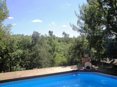 Photo for Villa pool and oak forest green Provence