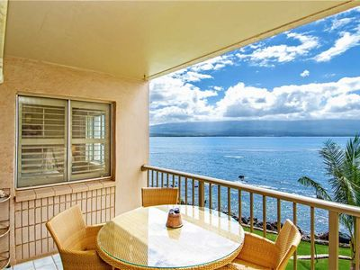 Photo for MK317 - Deluxe, Tranquil Maui Direct Oceanfront/View Condo, Beautiful Remodel 2BR/2BA