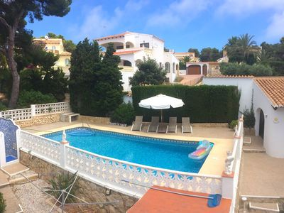 Photo for Happy children-Happy parents. Villa with playground, trampoline and private pool