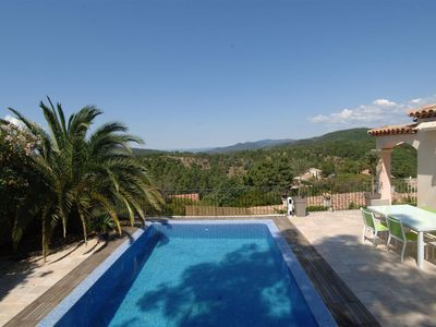 Photo for Spacious villa in a peaceful setting overlooking a magnificent panorama