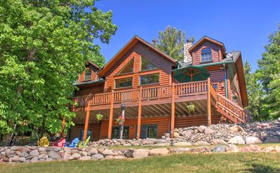 Photo for Beautiful, Custom Built Cabin On The Whitefish Chain