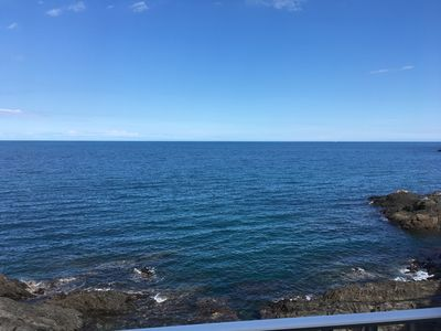 Photo for SEA VIEW IMPRENABLE 3 * -T3 feet in the water -parking, wifi, direct access beach