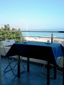 Photo for Seaview modern holiday home in NW Sicily - air conditioning, Wi-Fi, parking, bbq