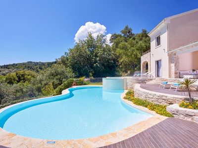 Photo for 4 bedroom Villa, sleeps 8 in Agios Stefanos Sinion with Pool, Air Con and WiFi
