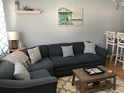 pullout sofa with new memory foam mattress