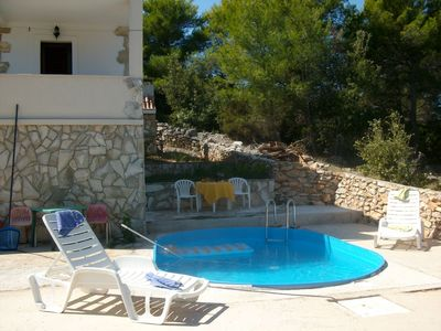 Photo for Holiday house VP  - Stomorska, Island Solta, Croatia