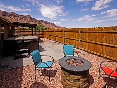 Photo for Private Home w/Private Hot Tub - Firepit - Fenced Yard - Views - Shared Pool