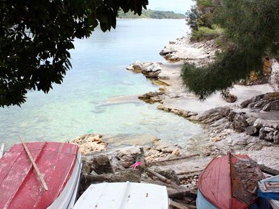 Photo for One bedroom apartment near beach Sobra, Mljet (A-7531-b)