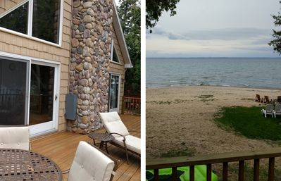 Photo for LAST WEEK IN JULY OPEN!!!  SUNSET BAYFRONT BEACH LARGE MODERN LAKE HOUSE WIFI