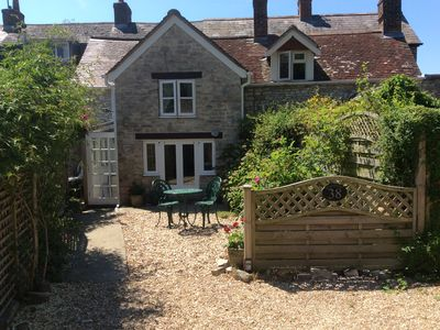 Photo for Dorset coast pet friendly cottage with country walks and beaches on the doorstep