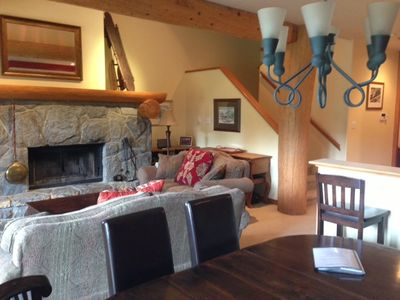 Photo for 3 Bedr. Ski-in/Ski-out, Spacious & Quiet property nestled in forested location.