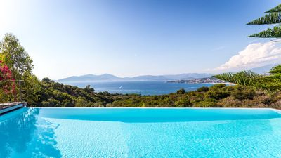 Photo for MODERN VILLA 275M² - PANO VIEW. ON GULF OF AJACCIO AND PISC. DEBOR. - 8/10 PERS