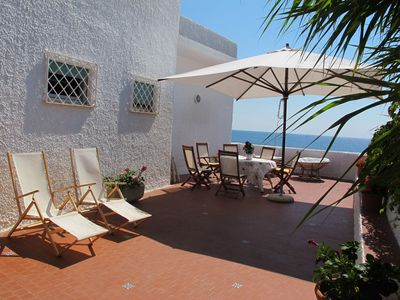 Photo for Villa Emma - Beautiful villa overlooking the sea and a short walk from Rome