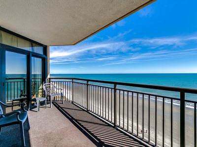 Photo for Luxury Oceanfront on 9th Floor w free beach chairs -  by Luxury Beach Rentals