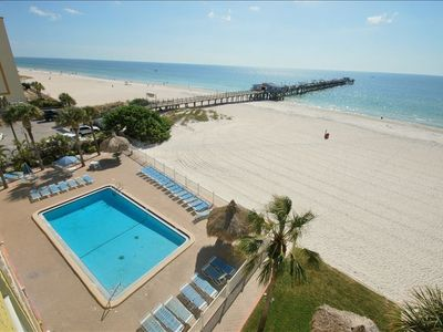 Photo for 3 Bedroom Beach Front Condo Recently Remodeled!