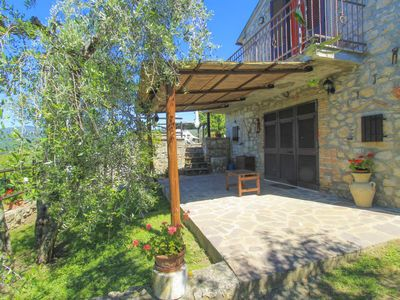 Photo for Vacation home Montecalvo in Roccastrada - 3 persons, 1 bedrooms
