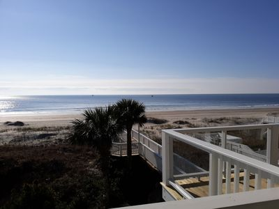 Photo for OCEANFRONT Dream vacation! 5 BR/4 full & 2-half Baths, Elevator, Game Rm, 2700sf