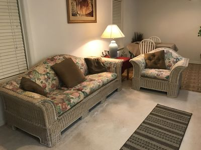 Photo for Dahlonega Mountain Apt #1  Four Rooms with Queen & Double Beds 1-2 persons