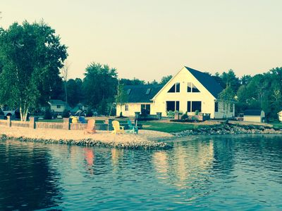 Island Cove Is A Private Island W/ A Land Bridge On All Sports Sage Lake Hale MI