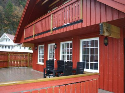 Photo for Holiday house with large terrace and for up to 8 people in Southern Norway