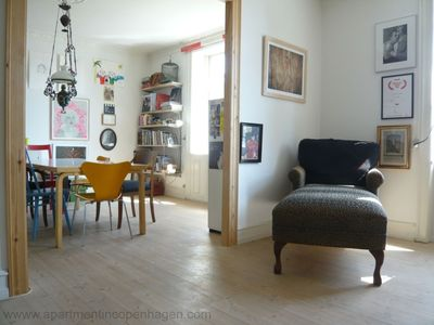 Photo for City Apartment in Copenhagen with 2 bedrooms sleeps 3