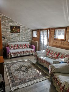 Photo for Splendid attic in the mountains, with chalet details