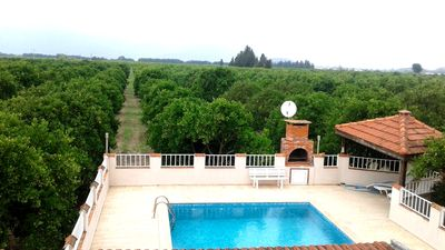 Photo for Villa Pirinc - 3 Bedroom private pool and gardens (Rural location