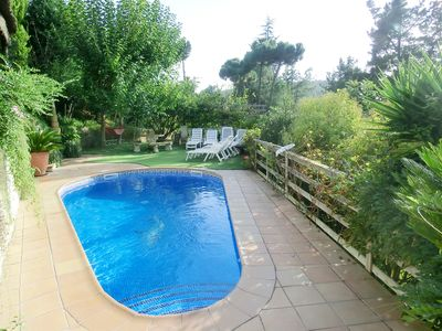 Photo for Holiday house Lloret de Mar for 9 persons with 4 bedrooms - Villa