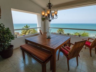 Photo for Feel the tranquility and look at Banderas Bay from this 2 bedroom