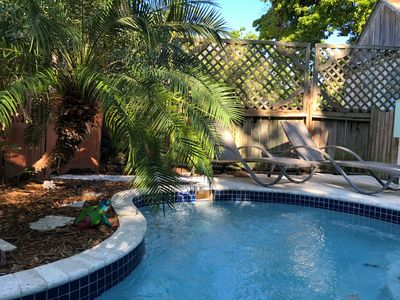 Photo for Three bedroom, two bath with private pool 2 blocks from Duval street