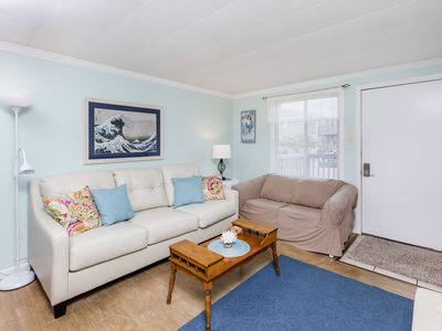 Photo for Enjoy the Canal Views from This Deck of This Lovely 2 Br Townhouse With a Pool!