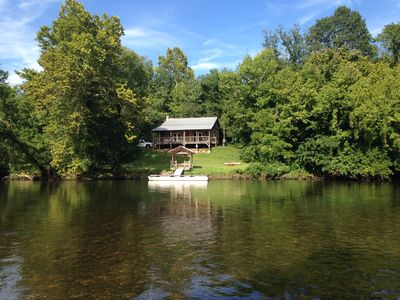 Photo for Cabin on Holston River, Fisherman & Paddlers Paradise