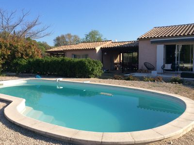 Photo for Secluded villa with pool and self contained studio
