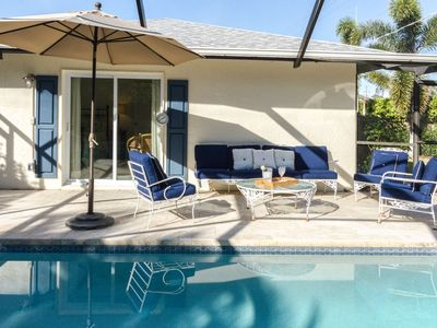 Photo for Naples Park Pool Home-Beach Chic Cottage-West of 41 - only minutes to Gulf, dining, & shopping!
