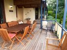 Large covered deck and BBQ